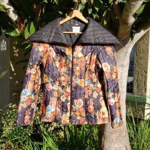 Designer Sylvia Heise jacket Roses & Barrock